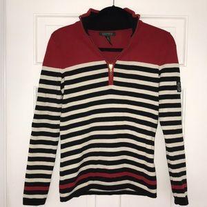Ralph Lauren: quarter zip sweater